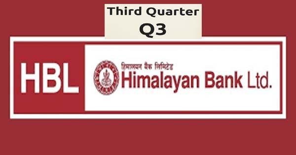 हिमालयन बैंकको नाफासँगै अधिकांश सूचकमा गिरावट