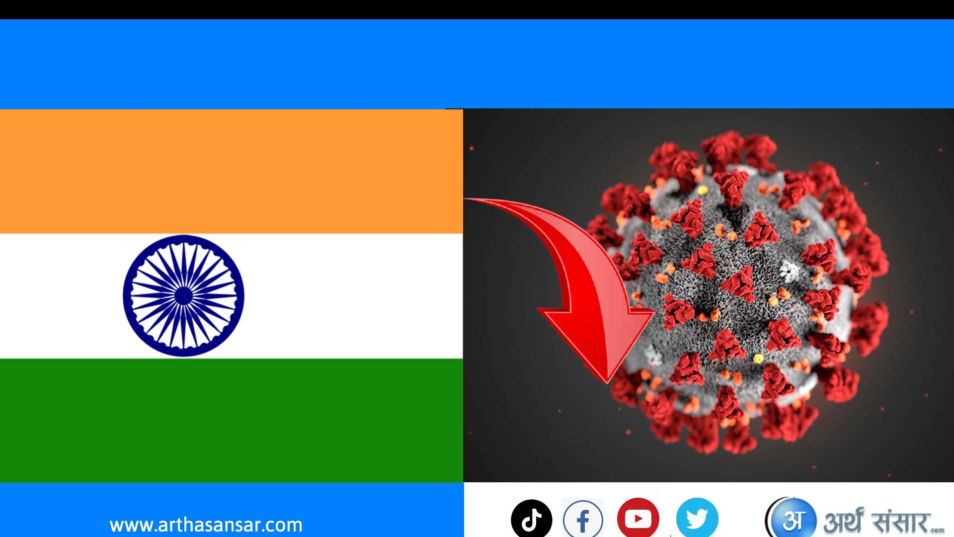 भारतमा निरन्तर घट्दैछ सक्रमितको संख्या आइतबार ७० हजारमा संक्रमण पुष्टी