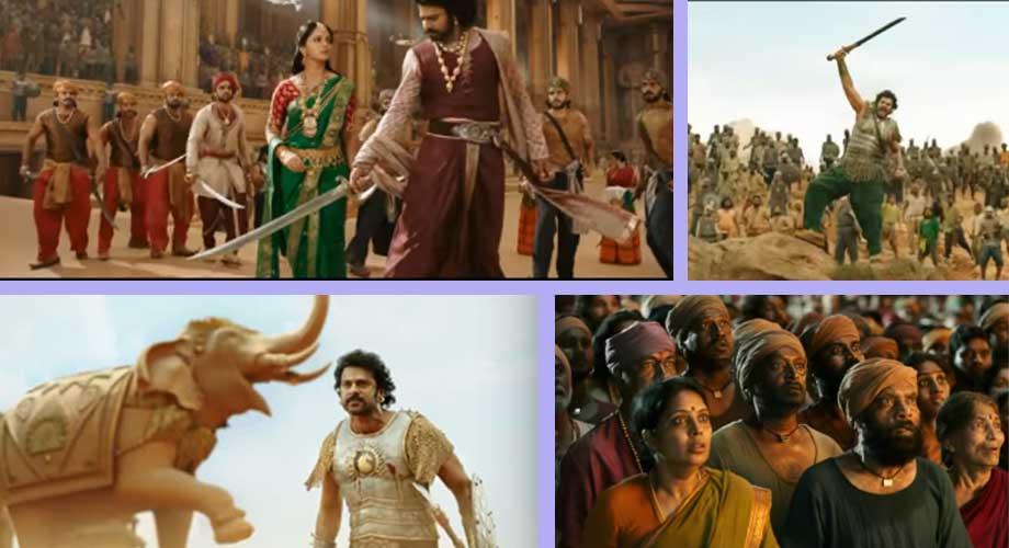 बहु प्रतिक्षित फिल्म 'बाहुबली–२' को ट्रेलर सार्वजनीक