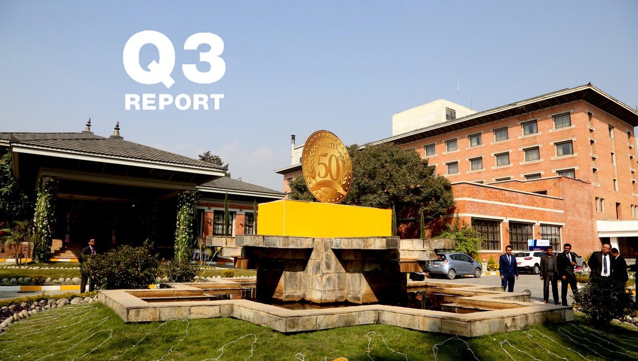 सोल्टी होटल १३.६६ करोड घाटामा, प्रतिसेयर आम्दानी ऋणात्मक